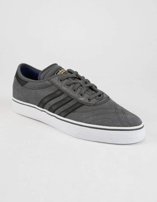 230a34462 Adidas Adi Ease Premiere Men's Grey Black BY3950 Size 10 NIB #Adidas  #Skateboarding
