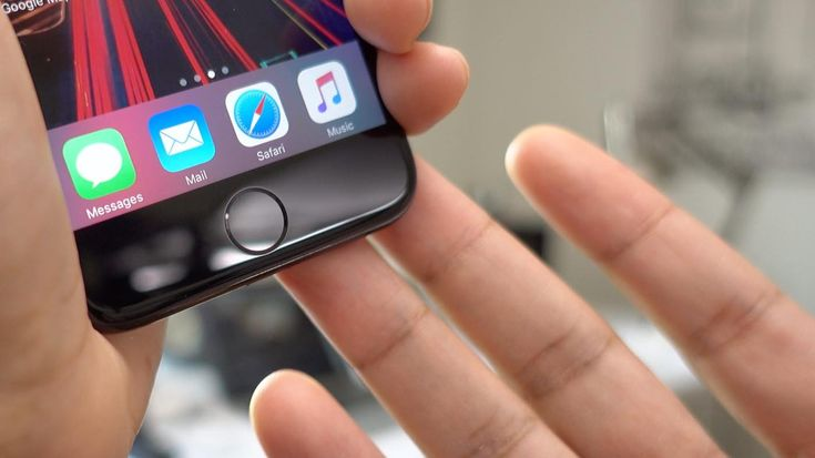 iPhone 7 : un bouton Home virtuel apparait quand le bouton physique est en panne