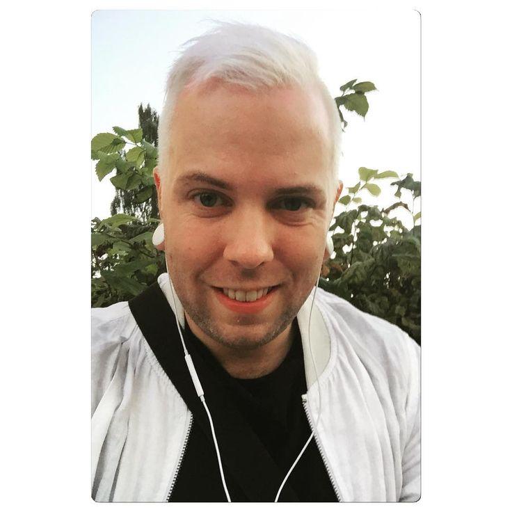 """""""Blonde today - Grey tomorrow ❤️ #hair #blond #blonde #denmark #dane #danish #fyn #odense #mitodense #gay #gayguy #gaystud #gaystyle #homo #instagay…"""""""