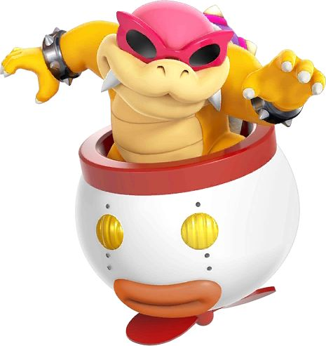 Roy Koopa -  Super Smash Bros