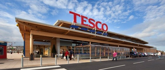 Supermarket Store Exteriors and Shop Fronts | Leading supermarket Tesco continues to work closely with leading manufacturing business Woodscape as part of their 'Build a Better Tesco' initiative.