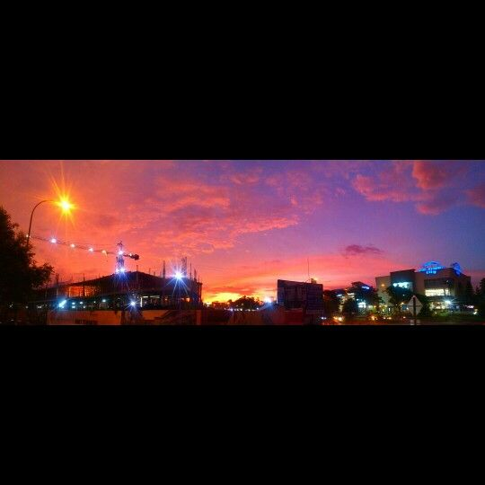sunset @bintaro