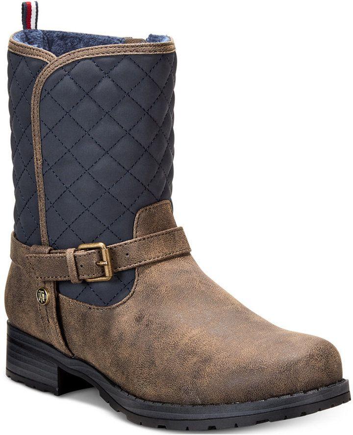 Tommy Hilfiger Rocker Rider Boots, Little Girls (11-3)