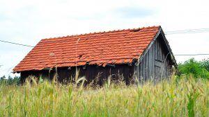 Czarne stodoły na Kaszubach - inspiracja - Dom Wieżyca