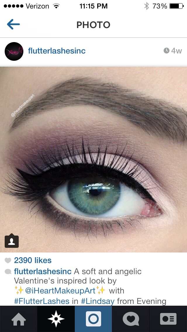 perfect eye makeup for green eyes!