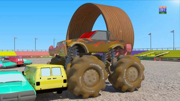 Monster Truck Car Wash   Children Car Wash   Kids Truck   Car Wash Game ...A monster truck isn't really a monster truck unless it crushes some cars, jumps over sand dunes and runs over some rough roads. But this makes the truck dirty. So just like we sent in all our vehicles to the garage for a nice car wash, we're sending in our naughty little monster truck too. #kids #preschool #parenting #toddlers #kidsvideo #truck #learningvideo #kindergarten #children #KidschannelIndia