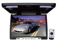 Pyle PLVWR1752 17-Inch Wide-Screen TFT LCD Roof Mount Video Monitor with IR Transmitter  Product Detai
