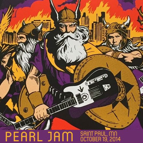 Bootleg artwork with posters for your enjoyment! - Pearl Jam