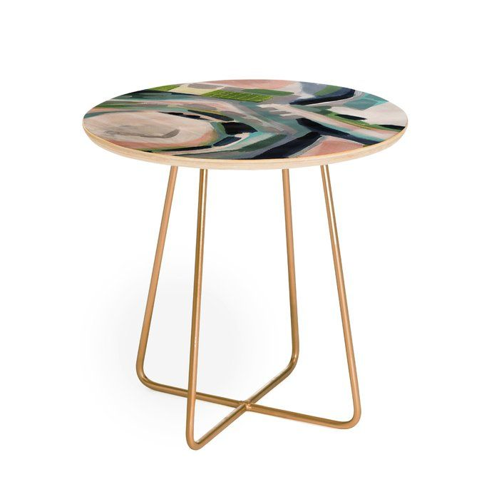 Laura Fedorowicz Momentarily Wise End Table End Tables Round Side Table Side Table