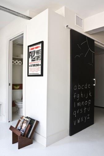 Chalk door