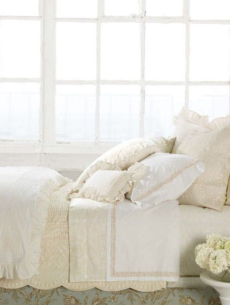 Inspiration: White Bedrooms from Pine Cone Hill