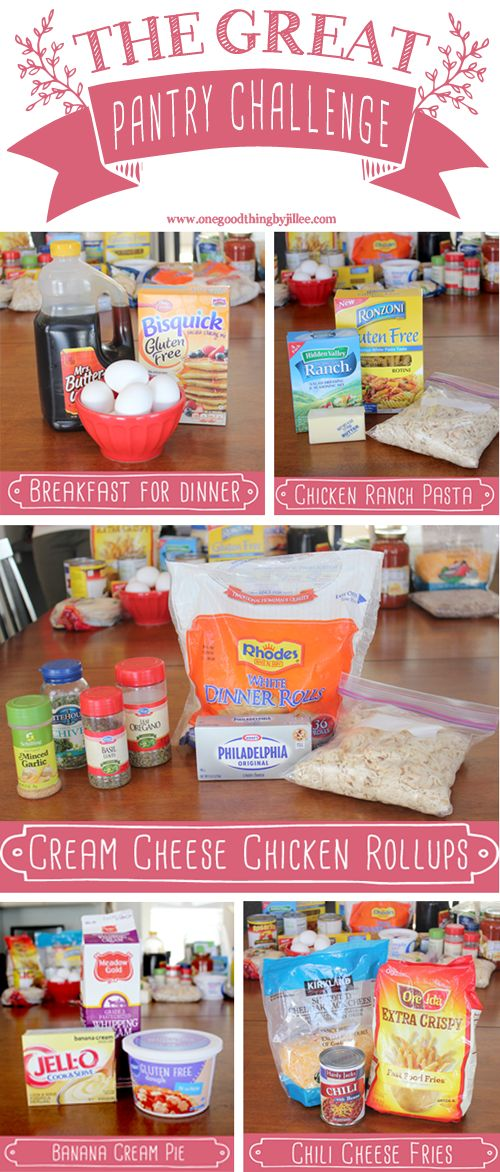 80 best pantry challenge images on pinterest comfort food the great pantry challenge forumfinder Image collections