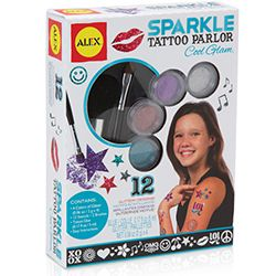 Alex Sparkle Tattoo Parlor Kit  $16.95 at Mastermind (ages 7+)