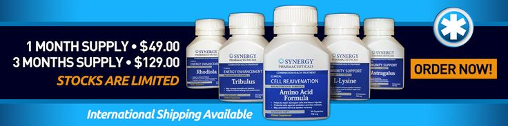 Synergy Health Solutions has developed in accordance with the newest innovations in clinical health research the first product that has proven to completely cure sufferers of the Herpes Simplex Virus. This is without question the greatest medical discovery of the past decade and is set to revolutionise the medical associations approach to viral diseases.