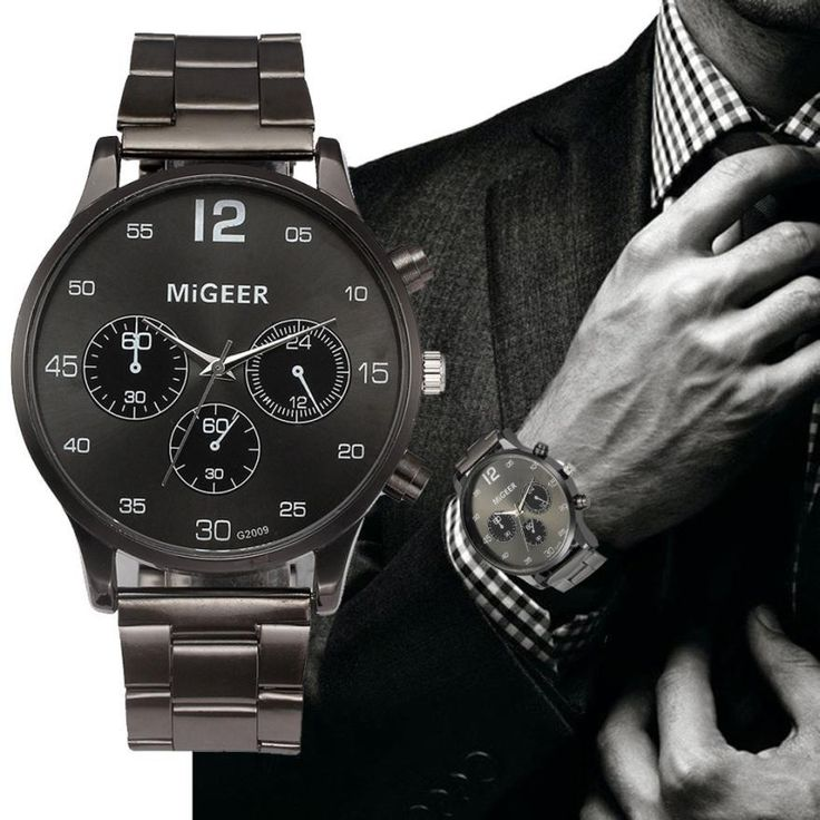 Watch Men Military Watches Army Top Brand Luxury Stainless Steel Business Clock Relogio Masculino