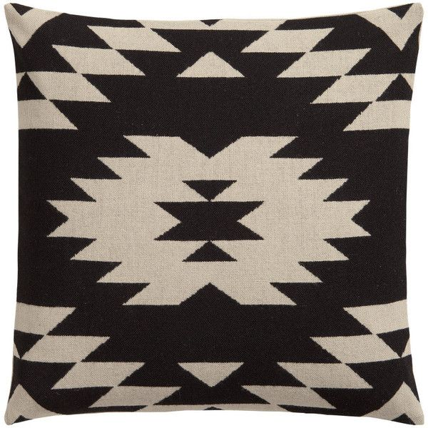 H&M Jacquard-weave cushion cover (230 EGP) ❤ liked on Polyvore featuring home, home decor, throw pillows, pillow, woven throw pillows and jacquard throw pillows