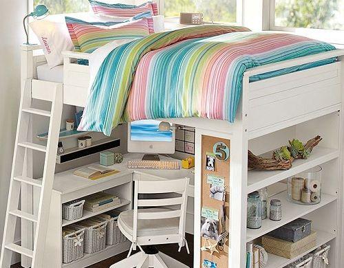 Teenage Girl Bedroom Design Ideas Sleep and Study Solstice Bedding