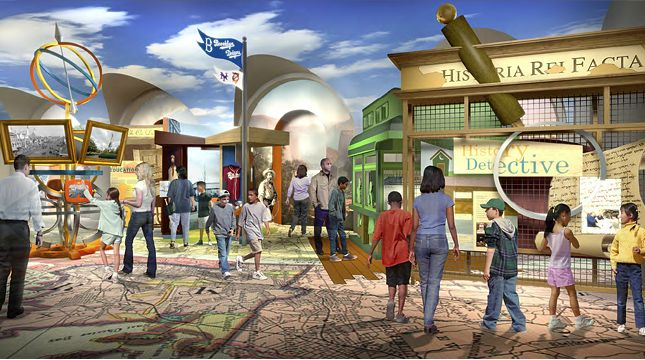DiMenna Children's History Museum, NYC, created to bring American history to the eyes of our children. Opening scheduled for November 11, 2011. #Museum #NYC #DiMenna_Childrens_History_Museum