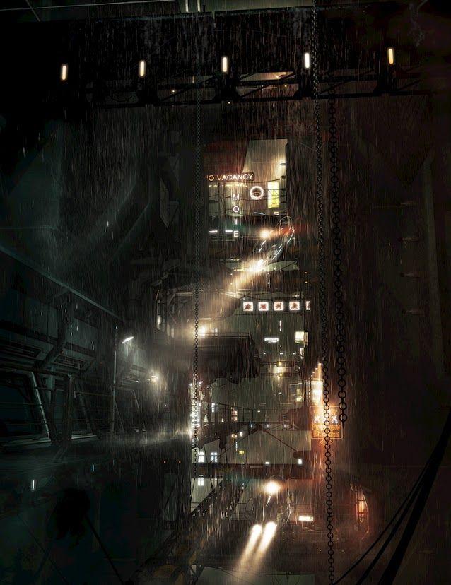 Brave New World on Pinterest | Cyberpunk, Future City and Post ...