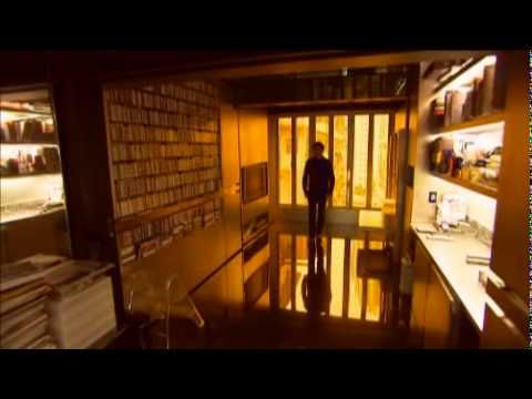 Gary Chang's transformable apartment. With moveable walls, Chang creates 24 possible configurations of a 32 square metre  apartment. This still looks unprepossessing, but the video is jawdropping