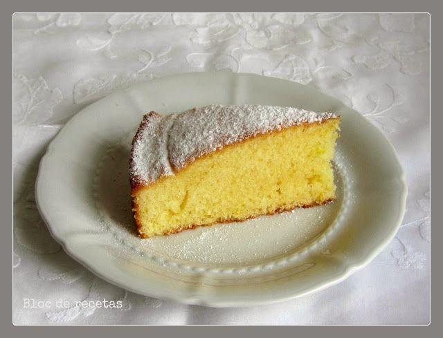 Bloc de recetas: Bizcocho de limón sin gluten en horno y en olla GM