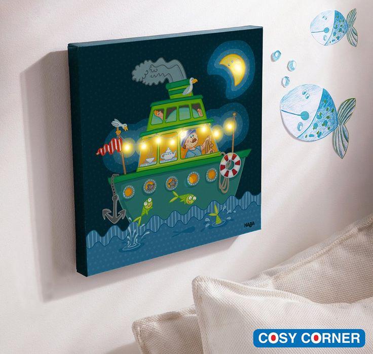 Υπέροχο φωτιστικό δωματίου που είναι συγχρόνως και κάδρο. Το βράδυ φωτίζει το δωμάτιο κρατώντας συντροφιά στα παιδιά. http://goo.gl/2FONAk