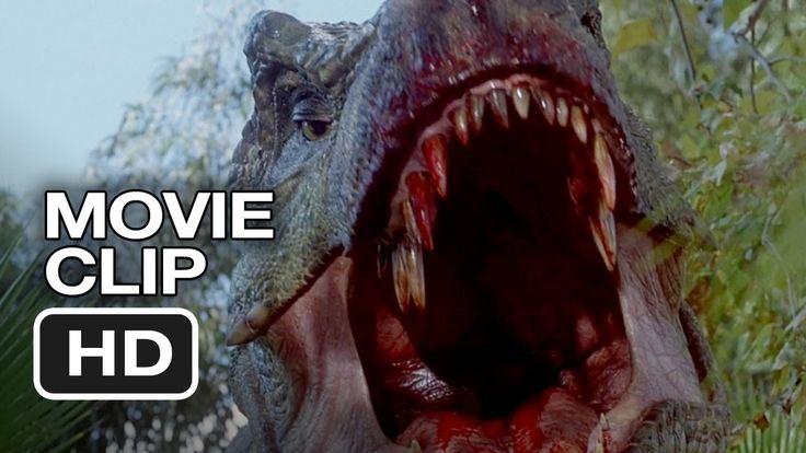 Jurassic Park 3 (3/10) Movie CLIP - Spinosaurus vs. T-Rex (2001)