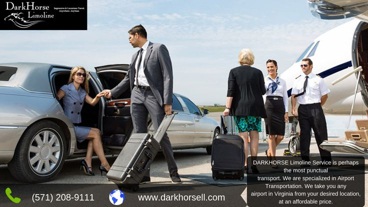 DARKHORSE Limoline Service is the most punctual. We are specialized in Airport Transportation.