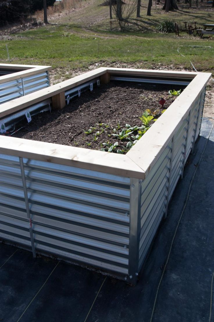 All About Our New Galvanized Steel Raised Beds Free Plans 400 x 300