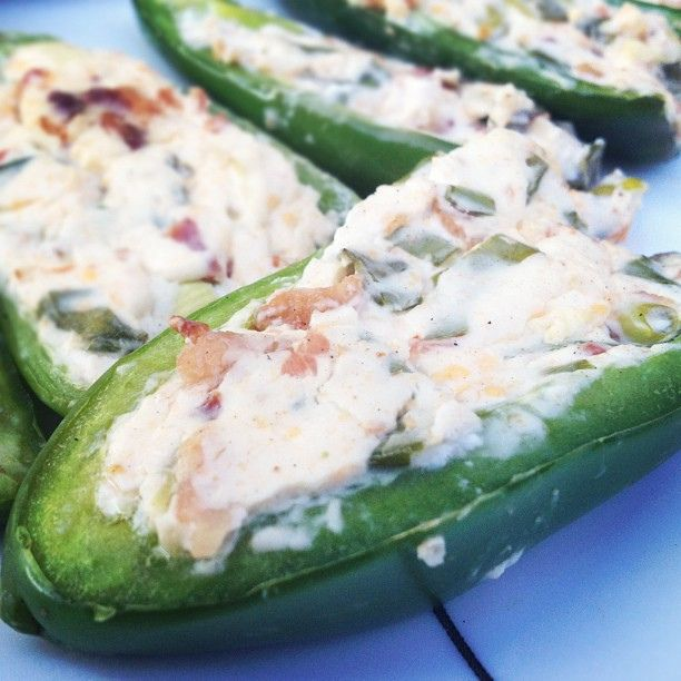 favorite bbq food - grilled stuff jalapenos