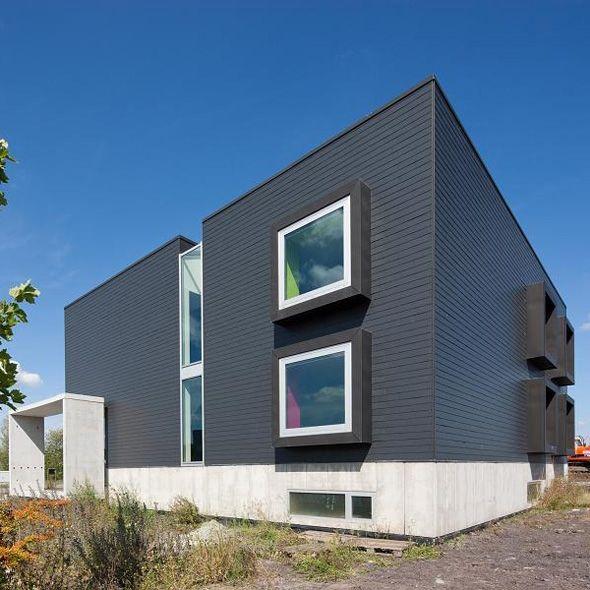 Leien - Halfsteensverband - Alterna Kantoorgebouw