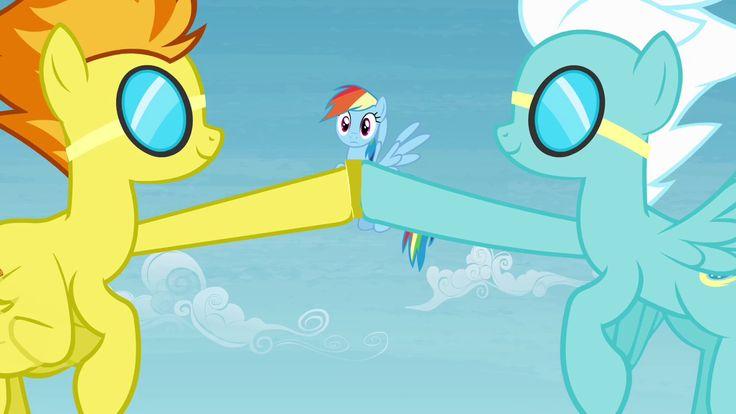 My little Pony  Spitfire  Soarin  Fleetfoot