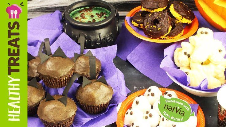 5 SUGAR FREE HALLOWEEN RECIPES - Natvia's Spooky Halloween Treats