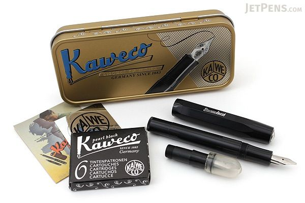 Kaweco Calligraphy Pen Set - Small - Black - 1.5 mm / 2.3 mm - KAWECO 10000812    // BEAUTIFUL // perfection // WANT!!