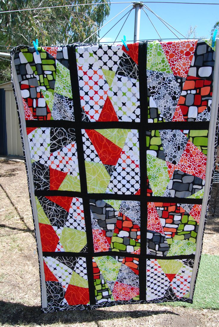 35 best Stack and slash quilts images on Pinterest | Patchwork ... : stack and slash quilt - Adamdwight.com