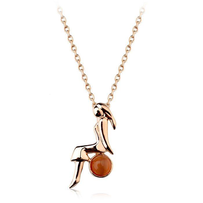 Оранжевый опал с сексуальная девушка на нем ручной чувствовал druzy мода ожерелье бразилия ювелирные изделия оптовая продажа