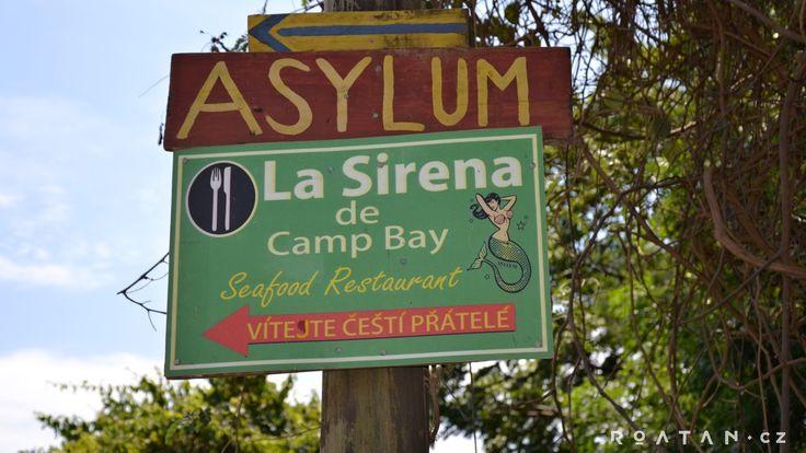 Camp bay - Kam na dovolenou? Do ráje! - ROATAN.CZ
