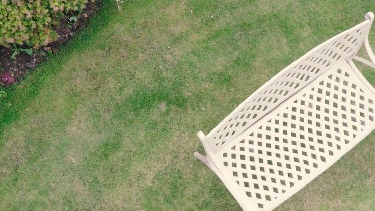 Cast Aluminium Garden Furniture - Lattice Bench