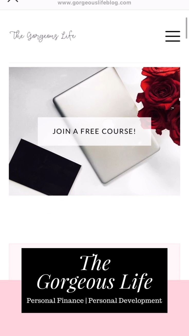 Gorgeous Life Blog | Personal Development and Personal Finance