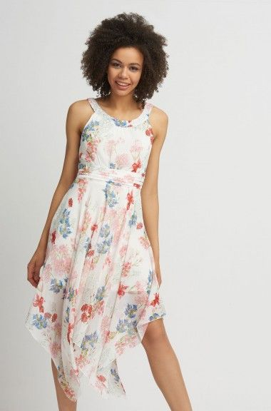rochie de sifon asimetrica