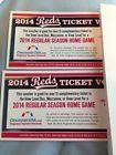 For Sale: (2)2014 Cincinnati Reds Ticket For Mezzanine, View Level,& Box. Read Description http://sprtz.us/RedsEBay
