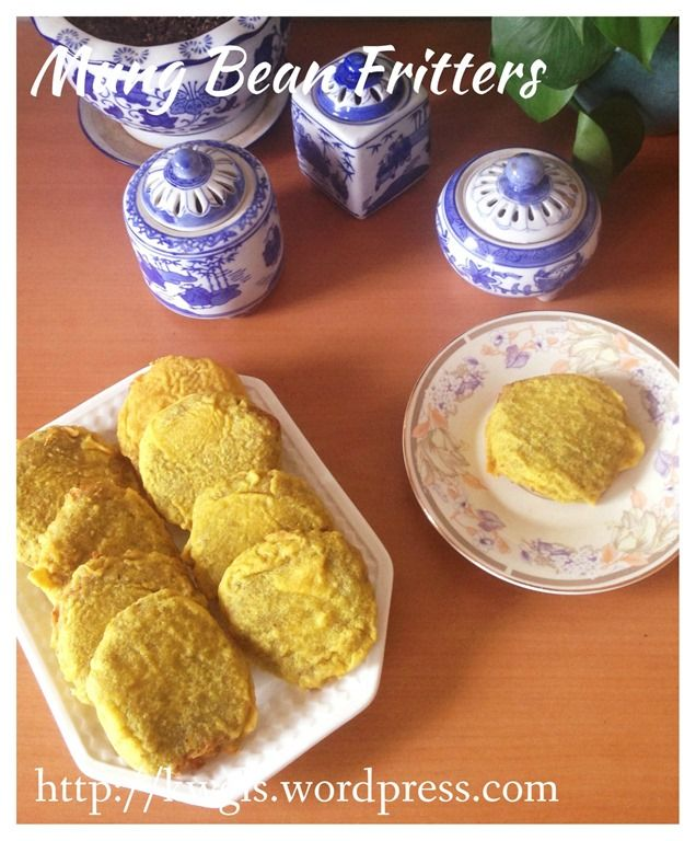Don't Throw Away The Beans After Drinking The Soup–Mung Bean Fritters (Kuih…