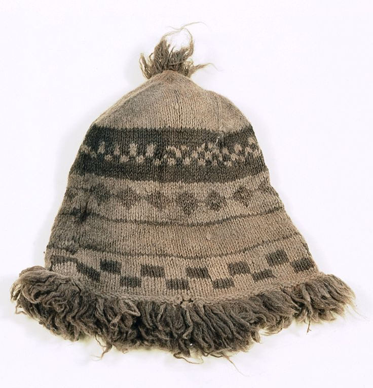A woollen hat recovered from a sea-chest in General Carleton