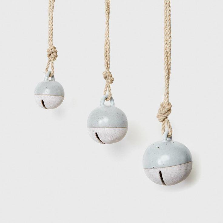 Jingle Bell - White Terracotta Glaze