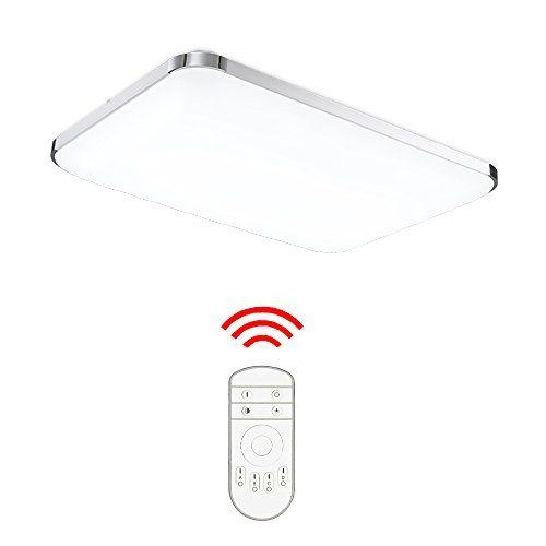 HengdaR 48W LED Deckenleuchte Deckenlampe Wohnzimmer Bad