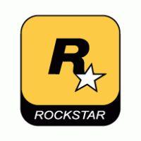 je ziet een logo in de vorm van een vierkant de kleuren die gebruikt zijn, zijn zwart, wit en geel