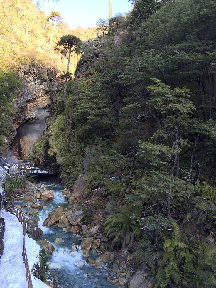 Termas de Malleco,  Curacautín, Araucanía, Chile