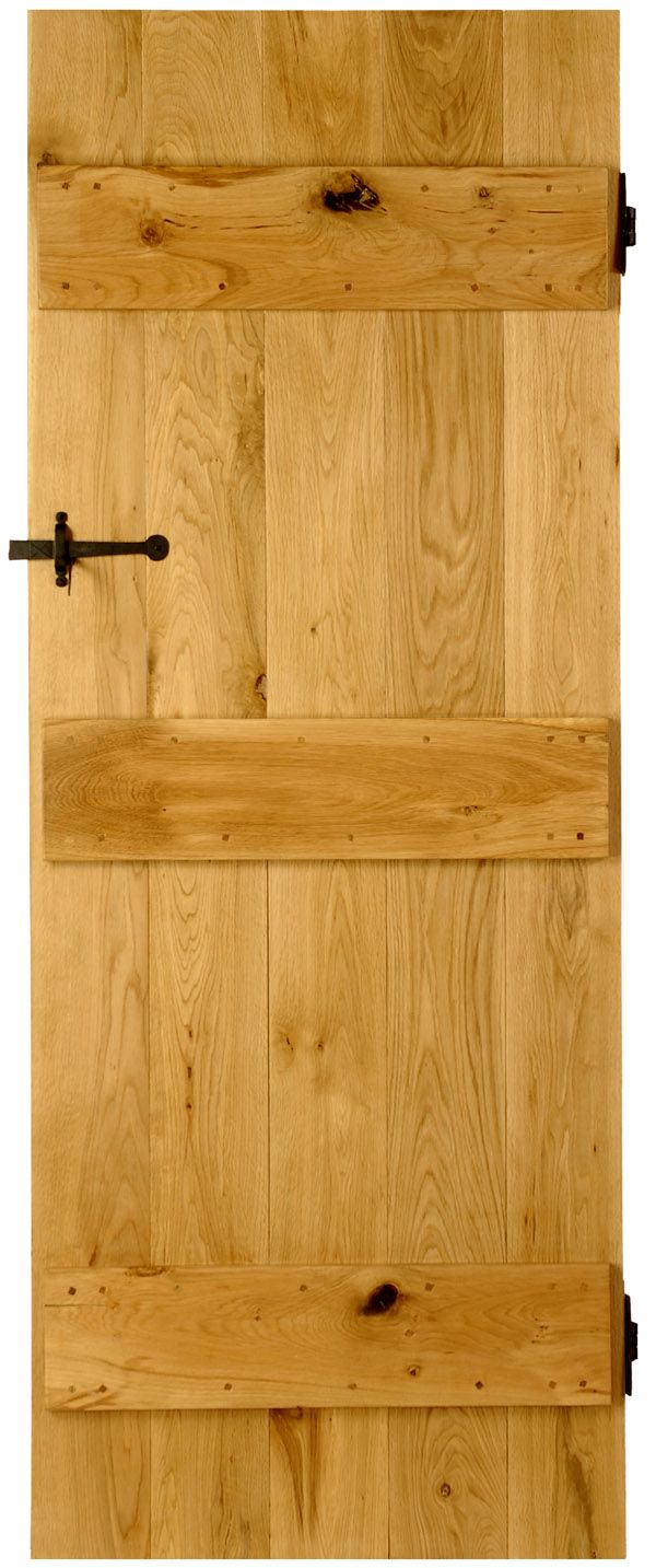 Beautiful oak doors for a country cottage look.