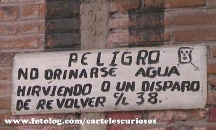 Esto es lo que se llama ser disuasorio. Más en http://www.lasfotosmasgraciosas.com/carteles.html