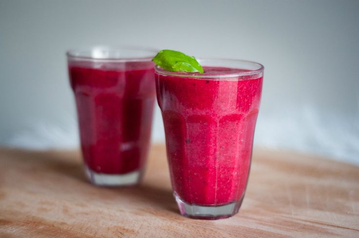 Super healthy and surprisingly tasty: beetroot smoothie